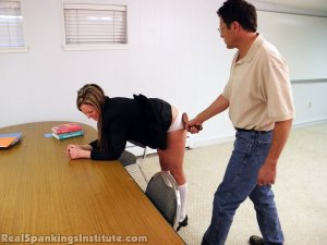 Real Spankings Institute - Late For Detention - image 7