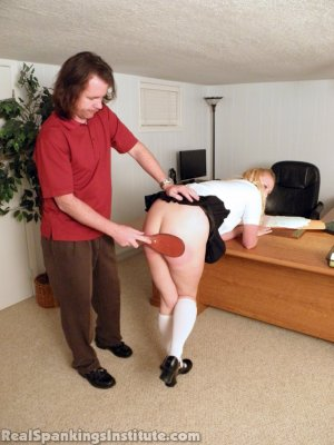 Real Spankings Institute - Summer And Brooke Punished For Dress Code Violations (part 2 Of 2) - image 16