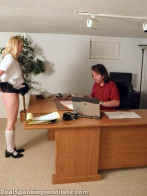 Real Spankings Institute - Summer And Brooke Punished For Dress Code Violations (part 2 Of 2) - image 14