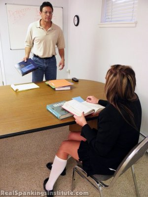 Real Spankings Institute - Late For Detention - image 13