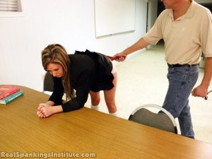 Real Spankings Institute - Late For Detention - image 15