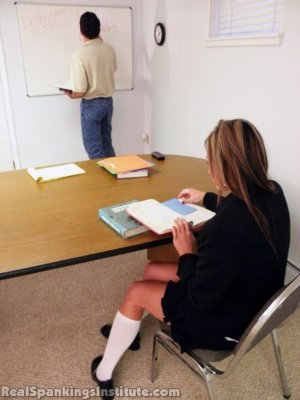 Real Spankings Institute - Late For Detention - image 16