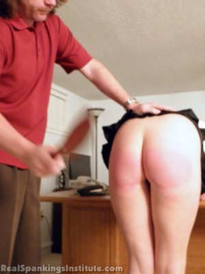 Real Spankings Institute - Summer And Brooke Punished For Dress Code Violations (part 2 Of 2) - image 11