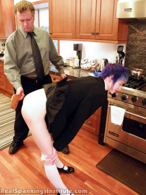 Real Spankings Institute - Lila Punished By The Assistant Dean (part 2 Of 2) - image 10