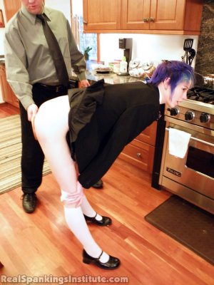 Real Spankings Institute - Lila Punished By The Assistant Dean (part 2 Of 2) - image 8
