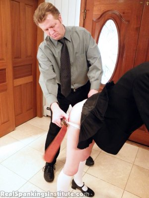 Real Spankings Institute - Lila Punished By The Assistant Dean (part 1 Of 2) - image 14