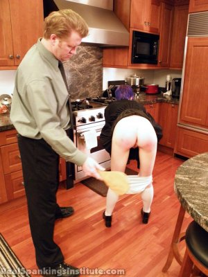 Real Spankings Institute - Lila Punished By The Assistant Dean (part 2 Of 2) - image 11