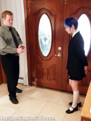 Real Spankings Institute - Lila Punished By The Assistant Dean (part 1 Of 2) - image 10