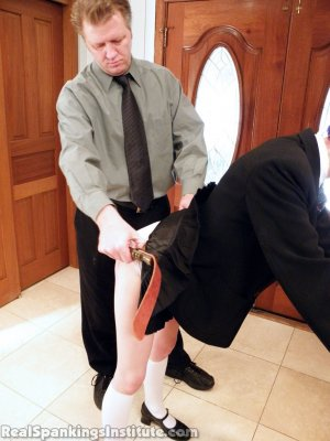 Real Spankings Institute - Lila Punished By The Assistant Dean (part 1 Of 2) - image 12