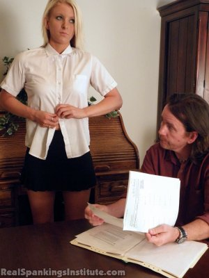 Real Spankings Institute - Summer's Arrival To The Institute - image 8