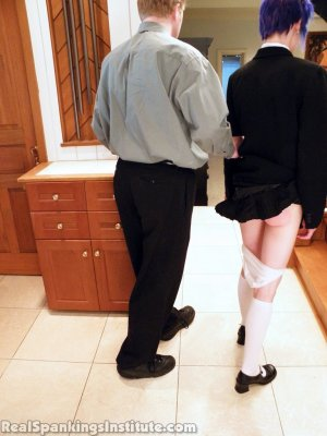 Real Spankings Institute - Lila Punished By The Assistant Dean (part 1 Of 2) - image 15