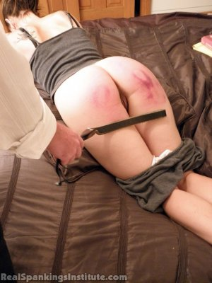 Real Spankings Institute - The Dean Follows Up With Jade - image 2