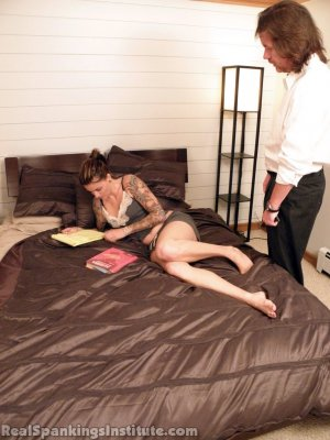 Real Spankings Institute - The Dean Follows Up With Jade - image 5