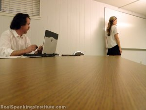Real Spankings Institute - Monica Spanked By Miss Kay And The Dean - image 5