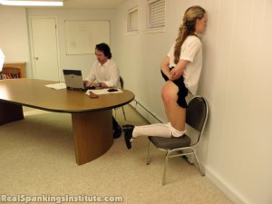 Real Spankings Institute - Monica Spanked By Miss Kay And The Dean - image 2
