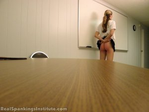 Real Spankings Institute - Monica Spanked By Miss Kay And The Dean - image 3