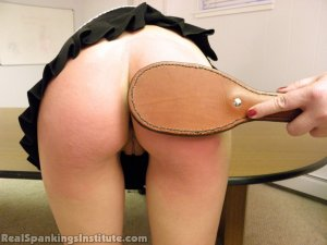 Real Spankings Institute - Monica Spanked By Miss Kay And The Dean - image 8