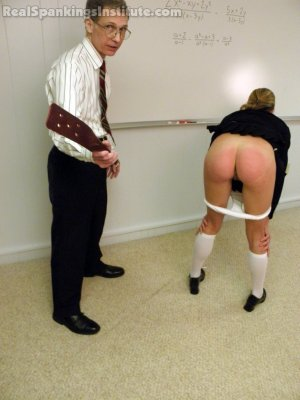 Real Spankings Institute - Monica Strapped For Copying - image 8