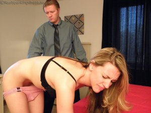 Real Spankings Institute - Spanked For Taking Naughty Pictures (part 2 Of 2) - image 6