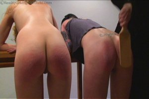 Real Spankings Institute - Monica And Jade Caught Fighting In The Hallway (part 2) - image 4