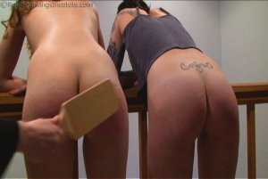 Real Spankings Institute - Monica And Jade Caught Fighting In The Hallway (part 1 Of 2) - image 6