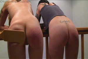 Real Spankings Institute - Monica And Jade Caught Fighting In The Hallway (part 1 Of 2) - image 7