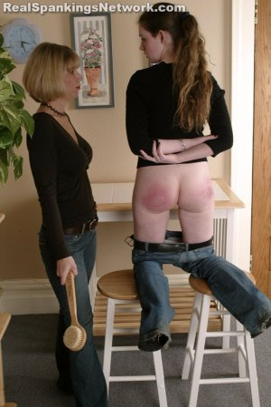 Spanking Bailey - Bailey Receives The Bathbrush - image 1