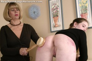 Spanking Bailey - Bailey Receives The Bathbrush - image 5