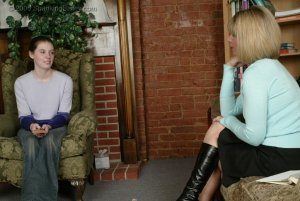 Spanking Bailey - Bailey Asks For Discipline - image 2