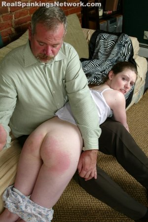 Spanking Bailey - Bailey Goes Over Mr. Daniel's Knee - image 12