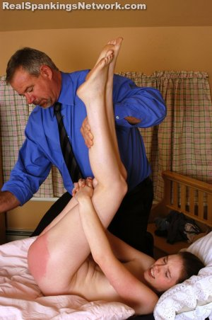 Spanking Bailey - Mr. Daniels Spanks Bailey - image 4