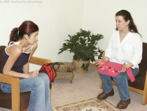 Spanking Teen Brandi - Dress Code Violation - image 8