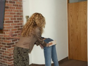Spanking Teen Brandi - Dress Code Violation - image 2