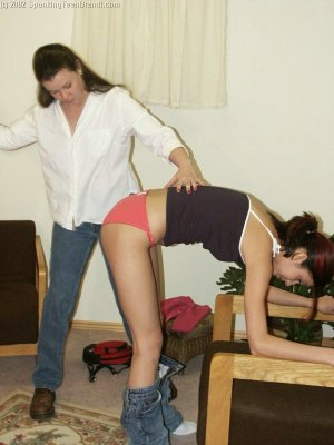Spanking Teen Brandi - Dress Code Violation - image 9