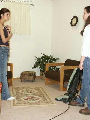 Spanking Teen Brandi - Dress Code Violation - image 7