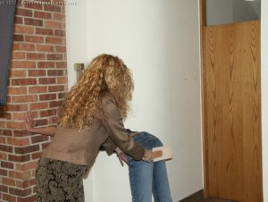 Spanking Teen Brandi - Dress Code Violation - image 4
