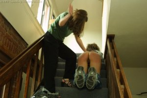 Spanking Teen Brandi - Spanked For Being Late - image 5