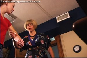 Spanking Teen Jessica - Jessica Is Paddled For Ditching Mrs. Burns Class - image 7