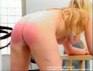 Firm Hand Spanking - 25.01.2005 - Bare Bottom Strapping - image 7