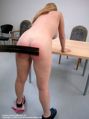 Firm Hand Spanking - 25.01.2005 - Bare Bottom Strapping - image 4