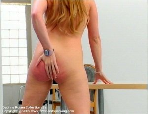 Firm Hand Spanking - 25.01.2005 - Bare Bottom Strapping - image 10