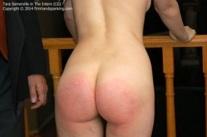 Firm Hand Spanking - The Intern - Cg - image 14