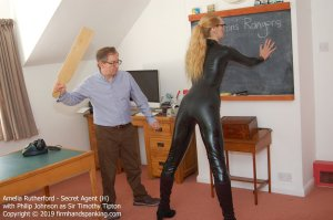Firm Hand Spanking - Secret Agent - H - image 3