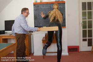 Firm Hand Spanking - Secret Agent - H - image 6