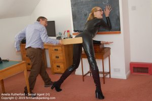 Firm Hand Spanking - Secret Agent - H - image 7
