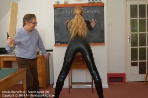 Firm Hand Spanking - Secret Agent - H - image 15