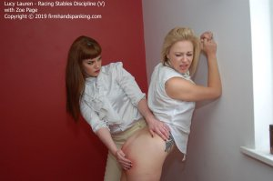 Firm Hand Spanking - Racing Stables Discipline - V - image 7