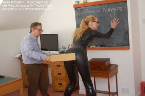 Firm Hand Spanking - Secret Agent - H - image 14