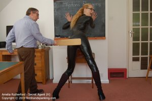 Firm Hand Spanking - Secret Agent - H - image 17