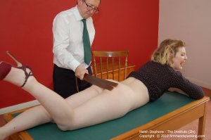 Firm Hand Spanking - The Institute - Zh - image 4
